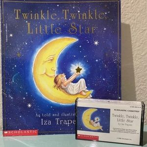 Twinkle Little Star Book/Tape